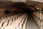 vast cellars of Chateau Meursault