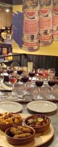 Ortega- rioja tasting
