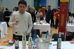 Nicolas wine fair-Correns organic wines