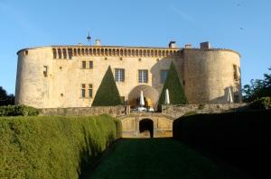 Chateau in Burgundy, France