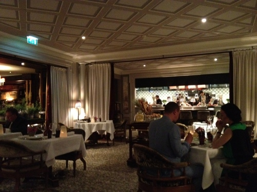 Joel Robuchon restaurant at Hotel Metropole in Monaco