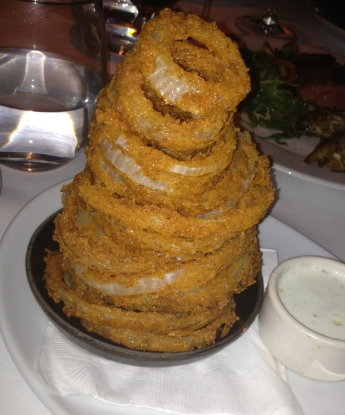 Wax Onion Rings Vs Well Done