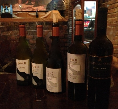Irurtia Km 0 wine range