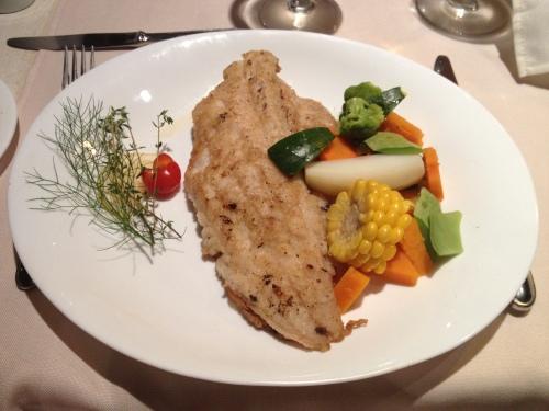 Pan fried local fish