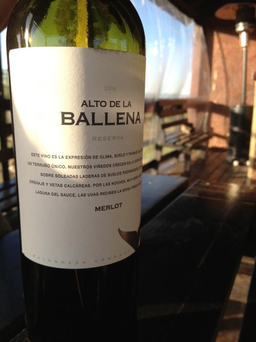 Merlot from Alto de la Ballena