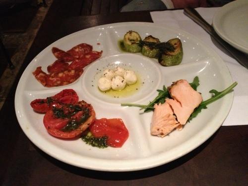 Figueira's appetizer platter