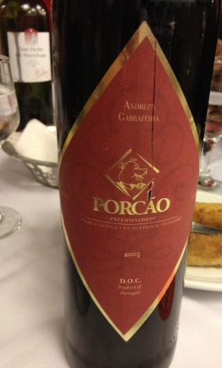 Red blend exclusively made for Porcao