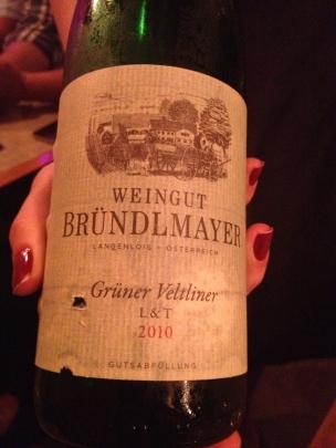 Austrian Gruner Veltliner from Weingut Brundlmayer
