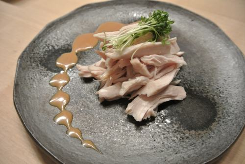 Chicken with sesame sauce