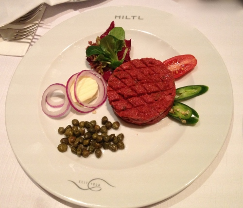 Vegetarian Steak tartare