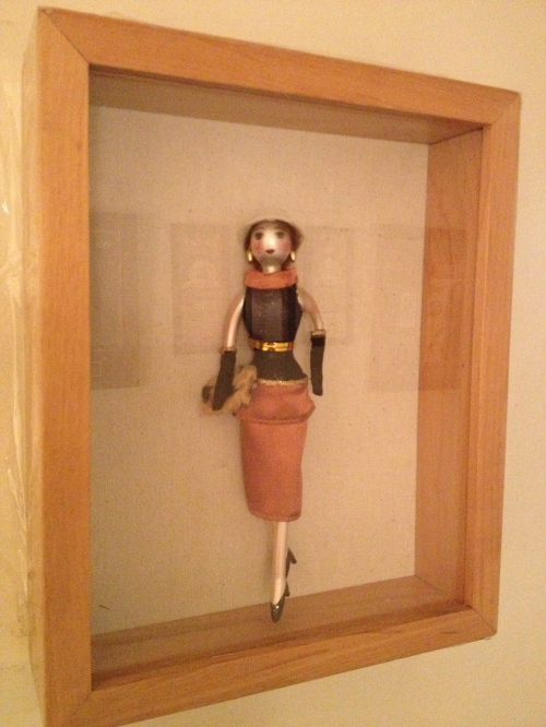 The Ladies bathroom doll