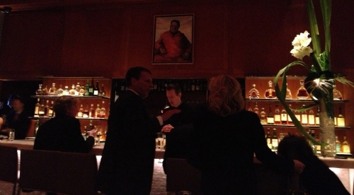 Bar scene at Le Bernardin