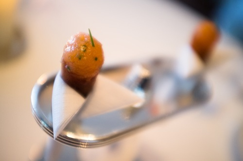 Amuse Bouche - Tuna mini cone