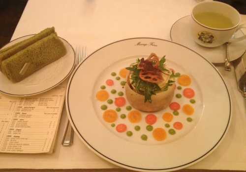Tea and food pairing at Marriage Freres