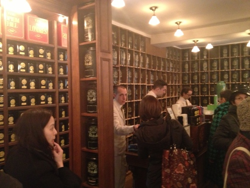 Endless selection of teas from around the world